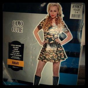 Camo Cutie Halloween or party Costume.